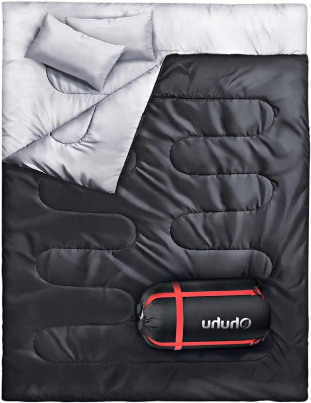 Cold Weather Sleeping Bag XL Extra Large 2 Two Person Adult Queen Double Camping